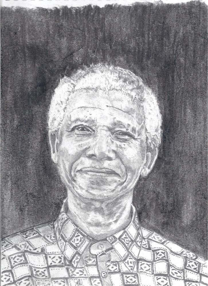 Nelson Mandela by ABO